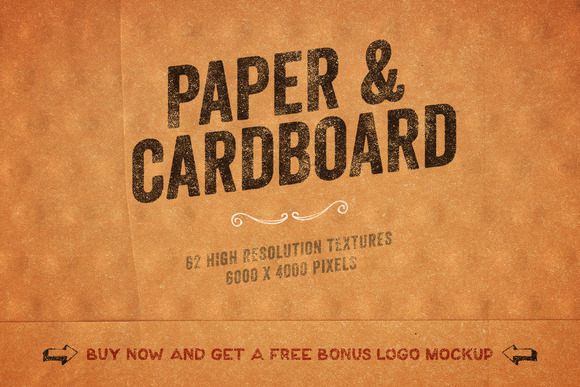 Paper Cardboard Textures Pack Vol 3