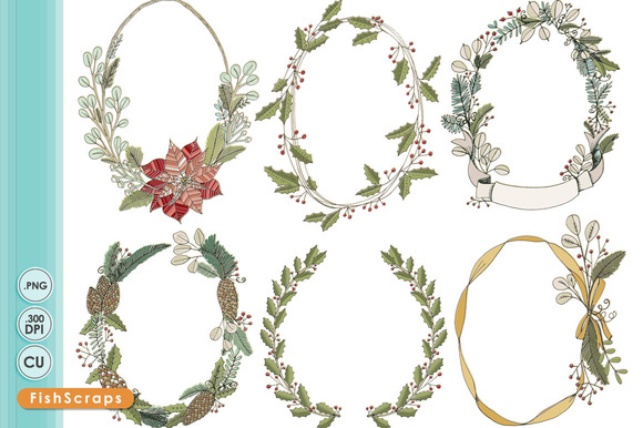 Christmas Wreath Floral