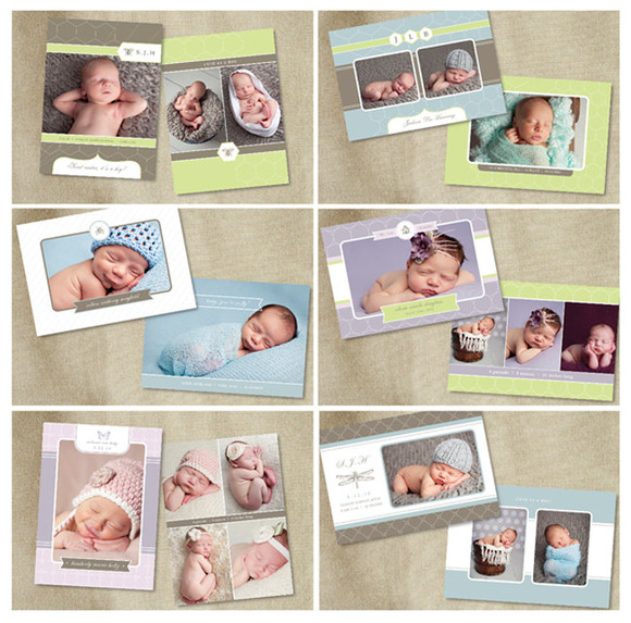 Sale Birth Announcement Templates