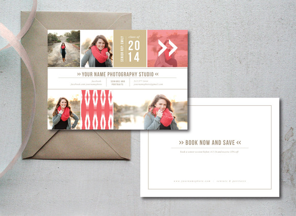 Sale Senior Photography Templates