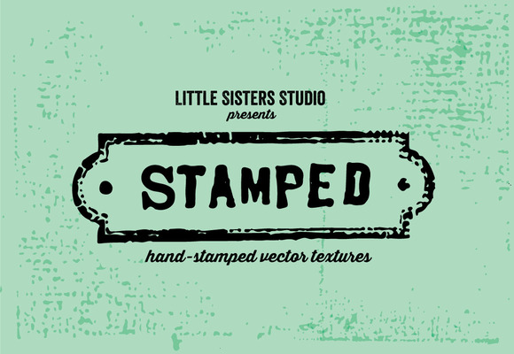 Hand-Stamped Vector Texture