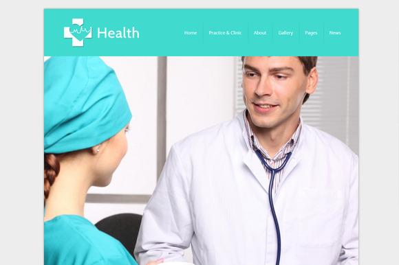 Health WordPress Doctor Theme