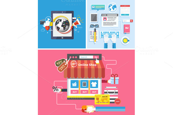 Online Shop Social Media And Seo