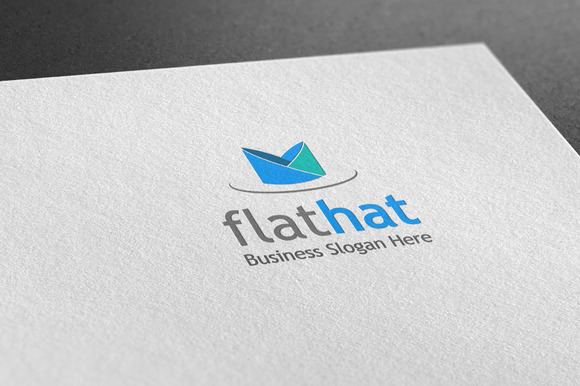 Flathat Style Logo
