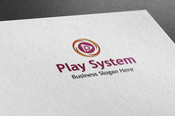 Play System Style Logo
