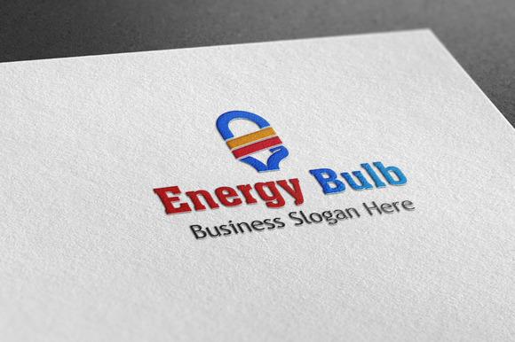 Enargy Bulb Style Logo