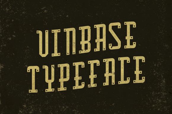 Vinbase Typeface