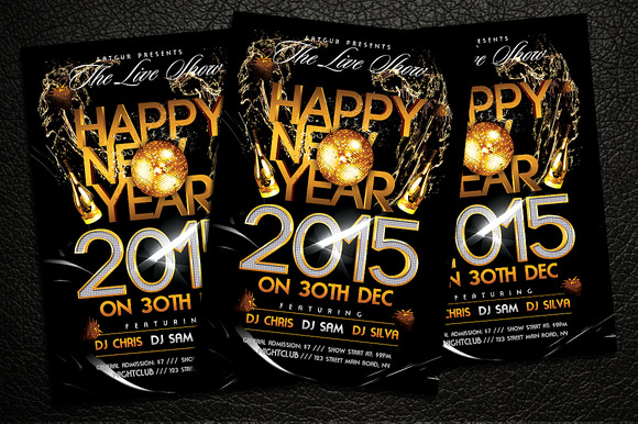 New Year Party Flyer V2