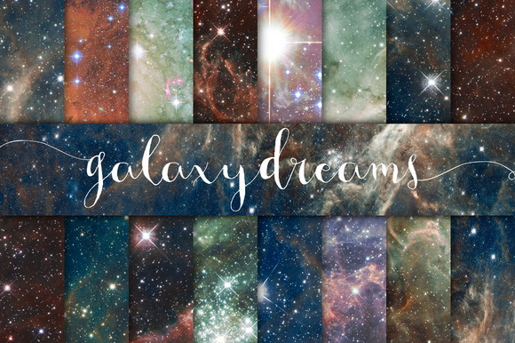Galaxy Dreams Digital Paper