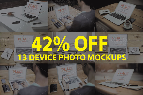 42% Christmas Offer Mock Up Bundle