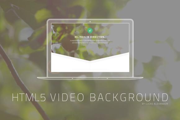 Summer HTML5 Video Background
