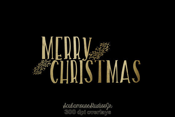 Merry Christmas Overlays