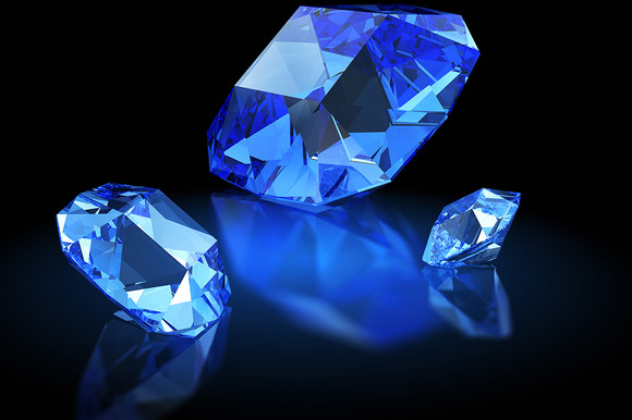 Three Sapphires