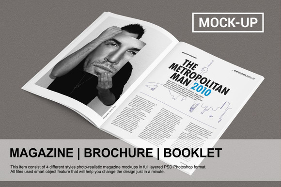 Magazine Brochure Mock-up