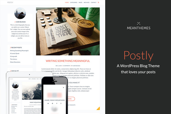 Postly A Theme That Loves Your Posts