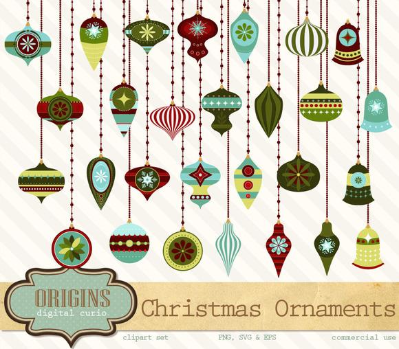 Christmas Ornament Vectors