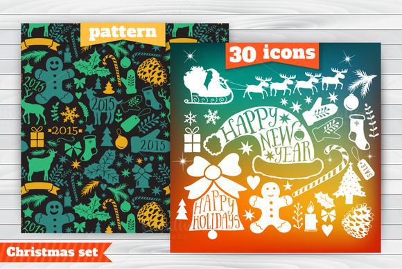 30 Icons Pattern