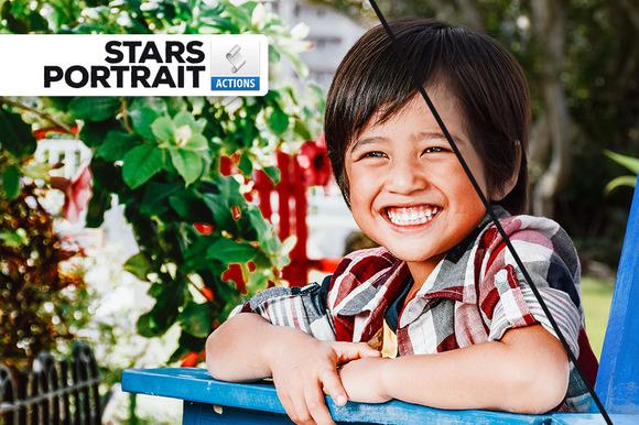Stars Portrait Actions