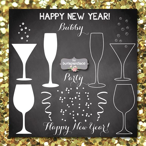 Happy New Year 2015 Clipart