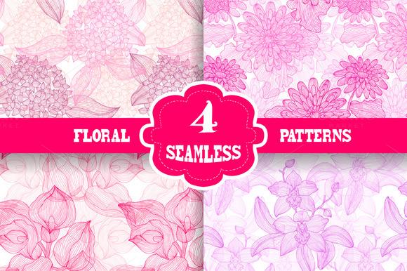 Pink Floral Patterns