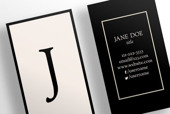 The Simple Nude Business Card