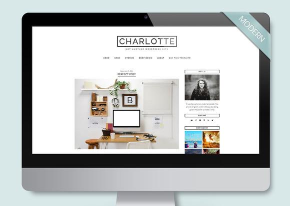 Charlotte Wordpress Template Blog