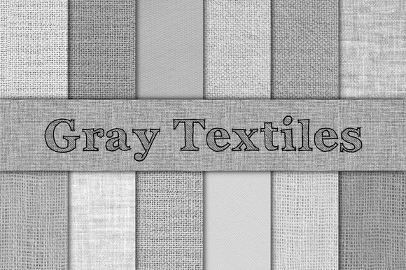 Gray Burlap Linen Canvas Textures