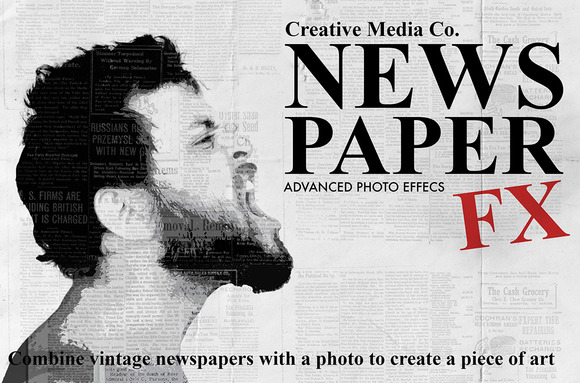 Old Newspaper Advanced Photo FX
