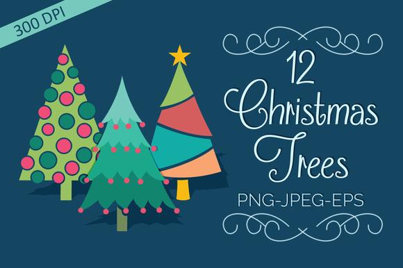 Christmas Tree Elements Set