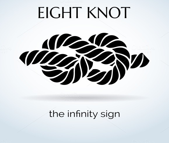 Rope Eight Knot Logo