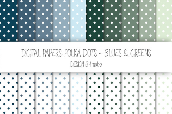 Polka Dots ~ Seamless Patterns