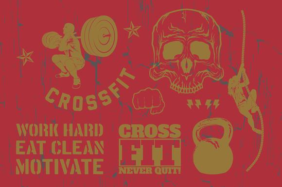 Crossfit Pack 1 Vector