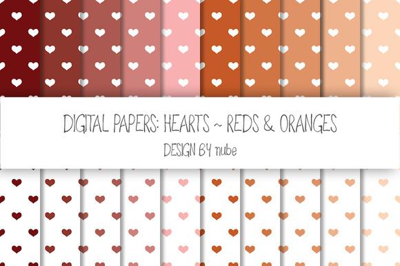 Hearts ~ Seamless Patterns