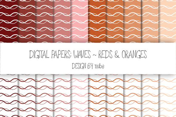 Waves ~ Seamless Patterns