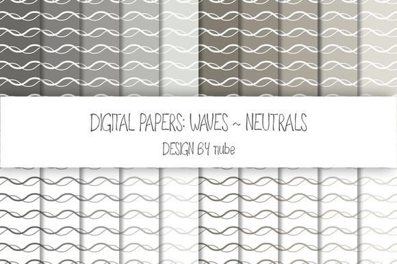 Waves ~ Seamless Patterns