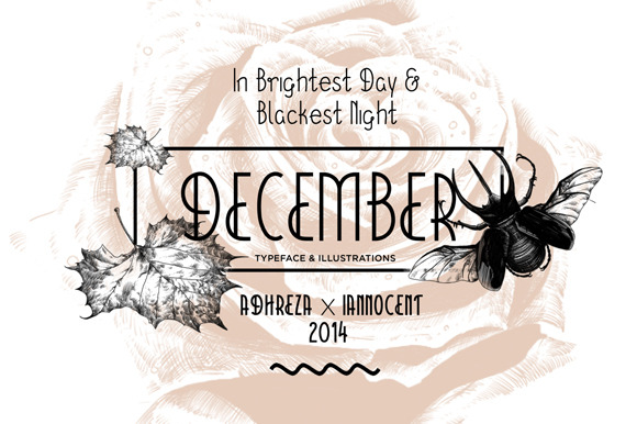 December Typeface