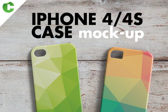 IPHONE 4 4S CASE MOCK-UP 3D Printing