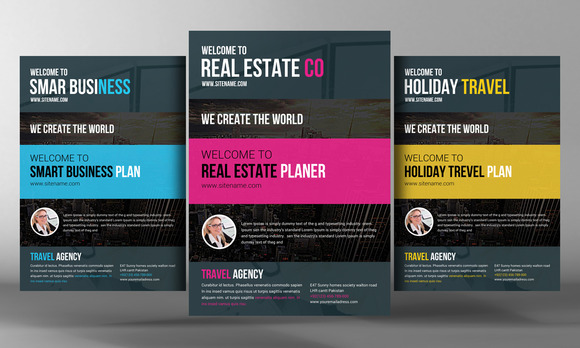 Multipurpose Flyers Template