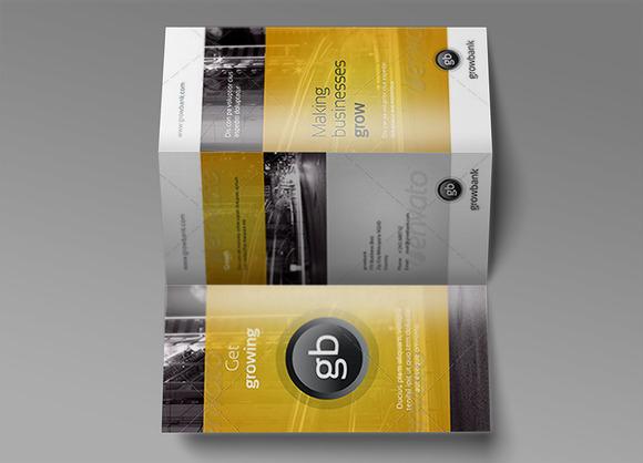 Tri Fold Brochure Mock-Up 6