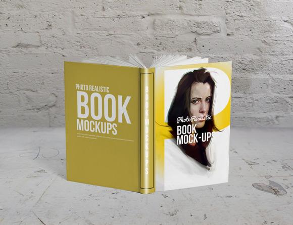 Book Mockup Photo Realistic 1