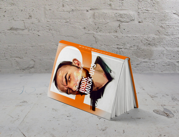 Book Mockup Photo Realistic 2