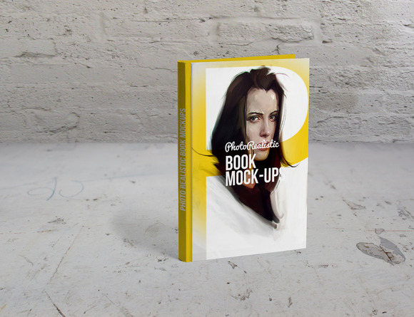Book Mockup Photo Realistic 4