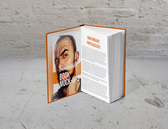 Book Mockup Photo Realistic 5