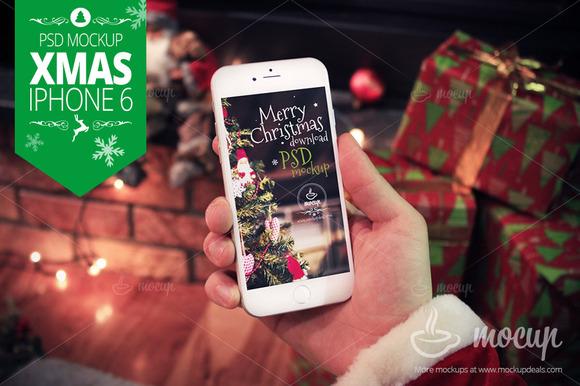 XMAS IPhone 6 Mockup