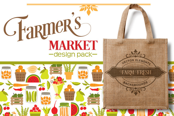 Farmers Market Design Pack