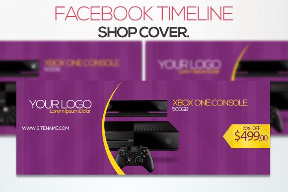Facebook Timeline Shop Cover