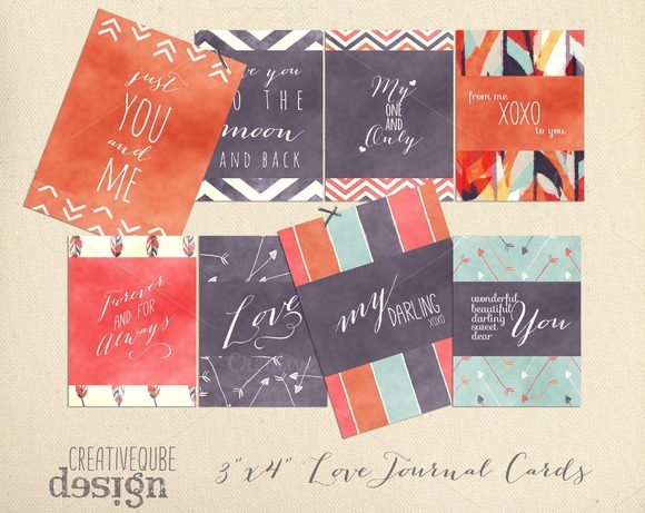 Digital Journal Cards Love Quotes