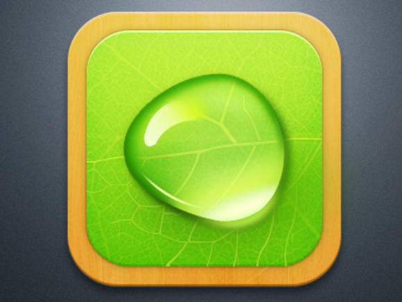 Droplet IOS Icon