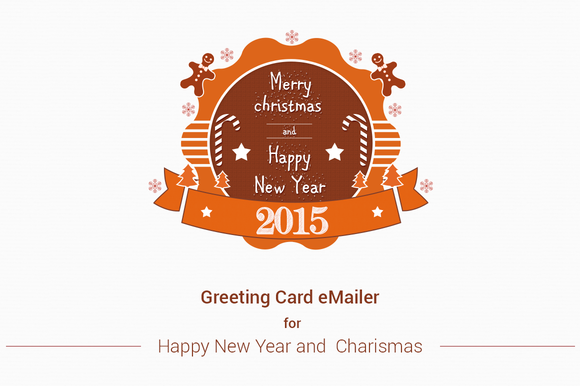 Merry Christmas New Year E-Mailer