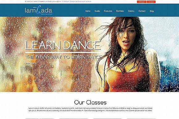 Lambada WP Dance Studio Theme